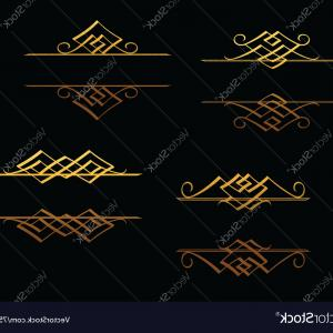 Christian Vector Borders: Art Deco Frames And Borders Vector
