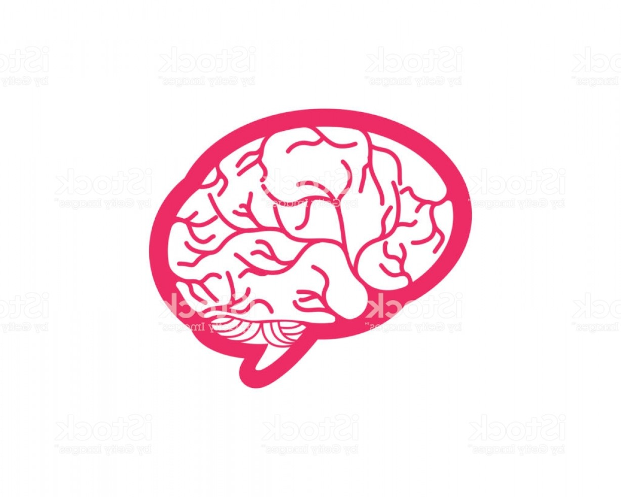 Brain Vector Art: Brain Vector Illustration Icon Gm