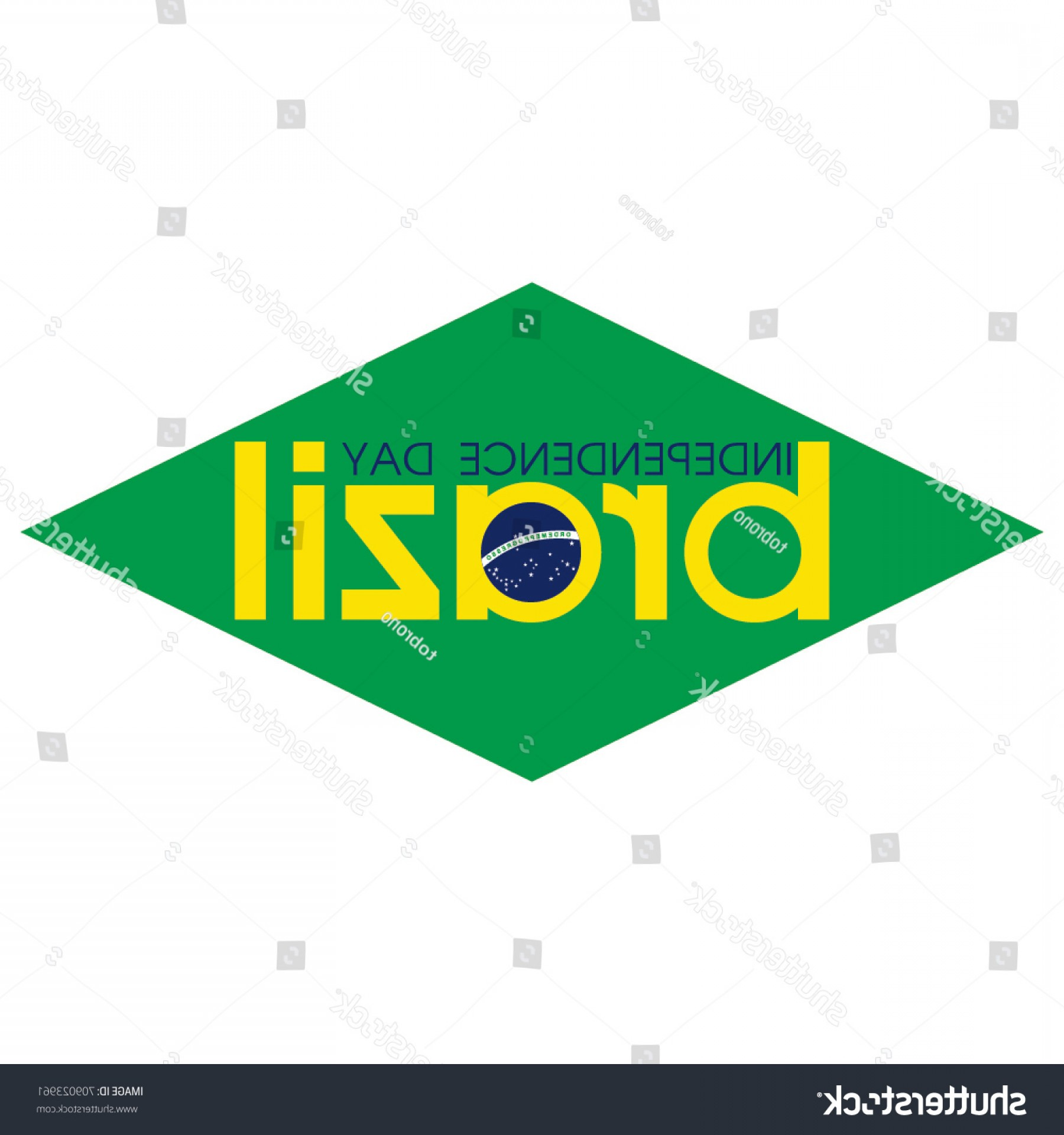 Columbia Logo Vector: Brazil Independence Day Logo Vector Template