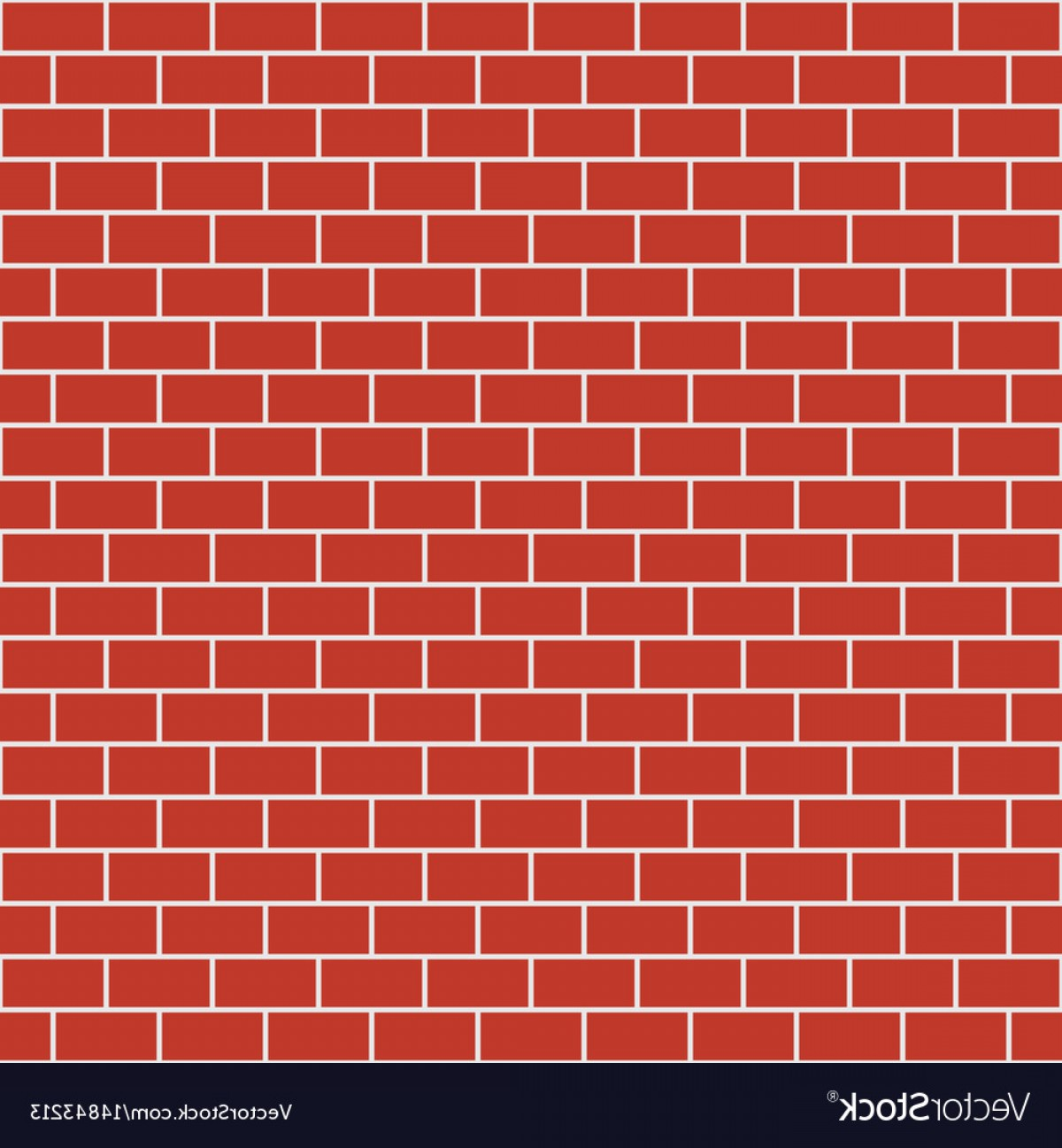 Wall Background Vector: Brick Pattern Seamless Brick Wall Background Vector