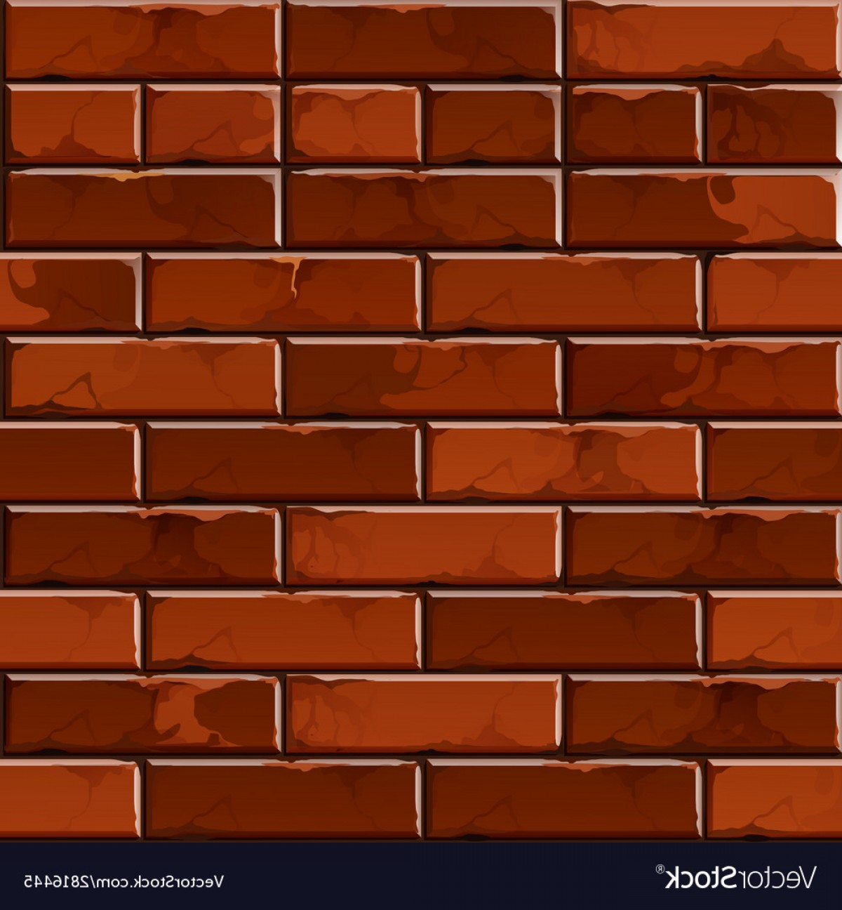 Wall Background Vector: Brick Wall Background Texture Pattern Vector