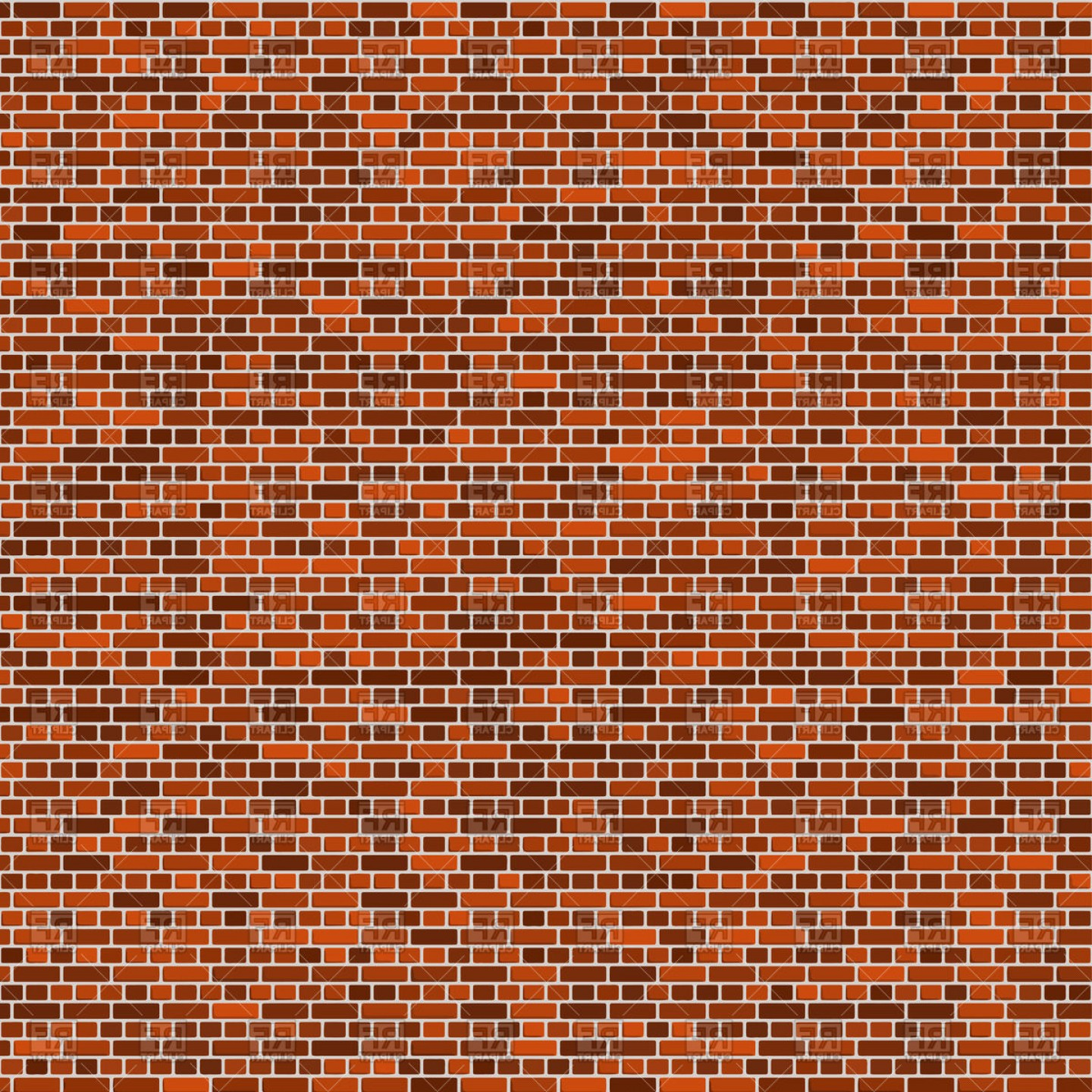 Wall Background Vector: Brick Wall Background Vector Clipart