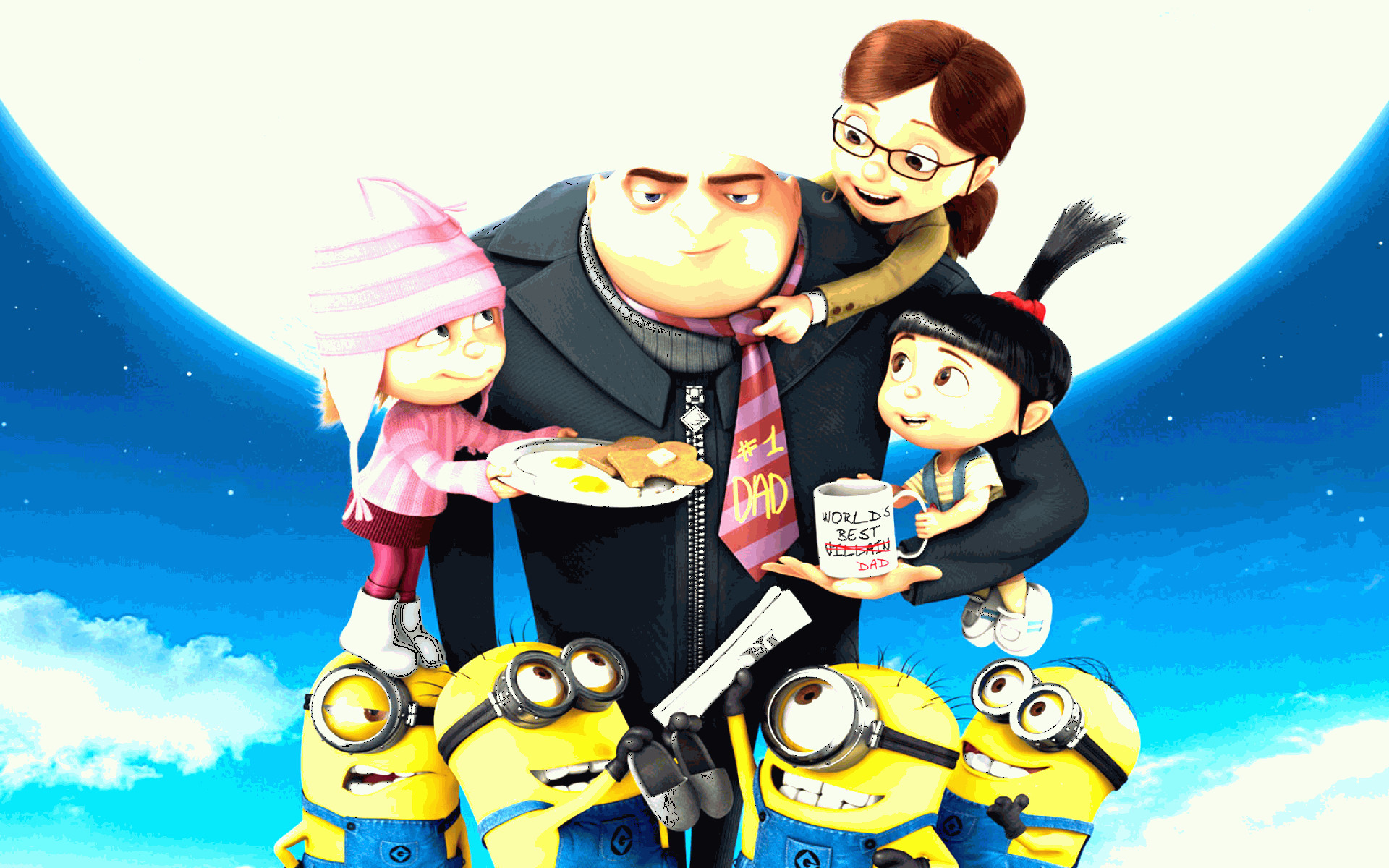 Vector Despicable Me Screams The Moon: Bring On Evil Goodness With Despicable