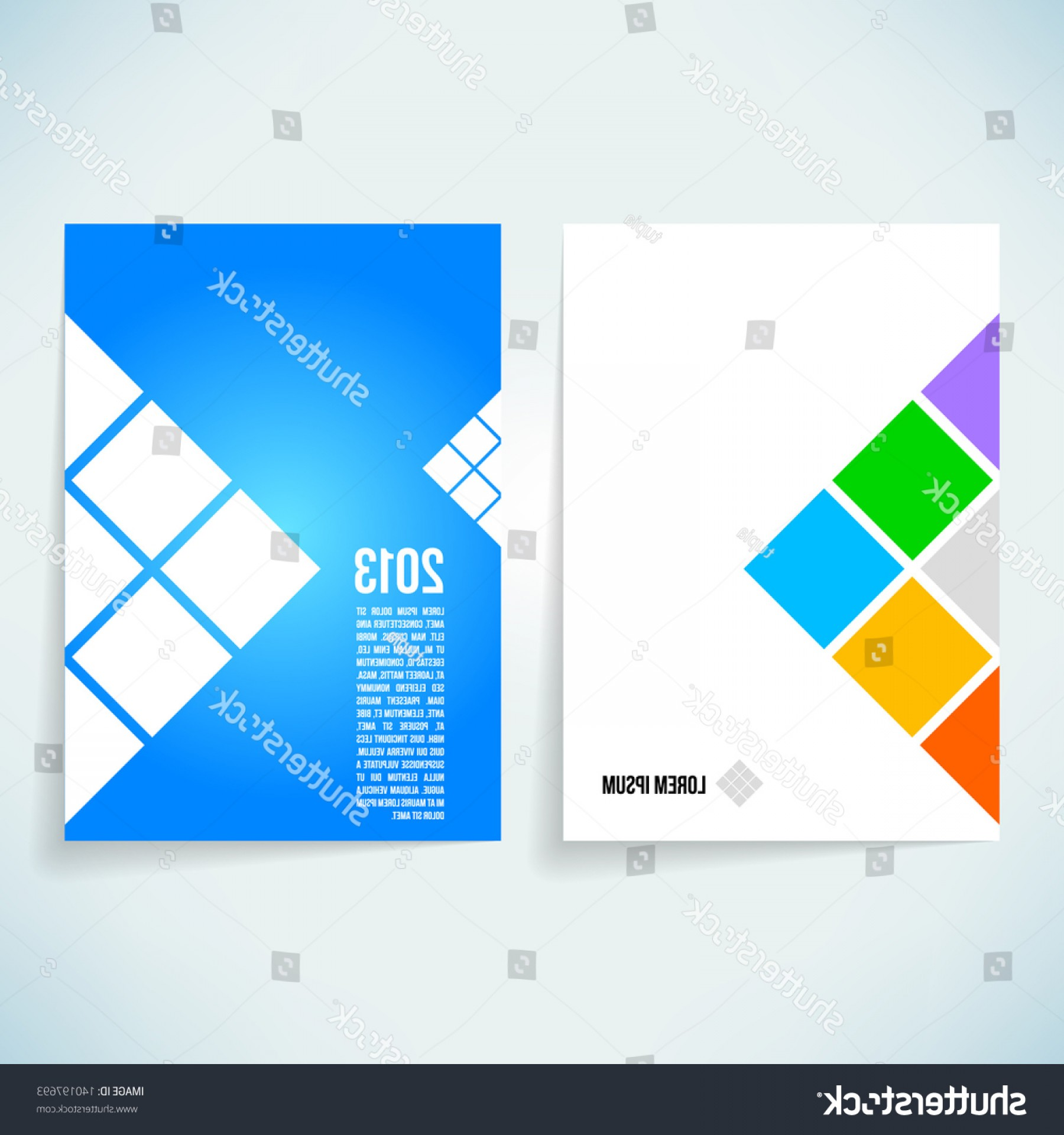 Vector Brochure Cover Designs: Brochure Cover Design Vector Template
