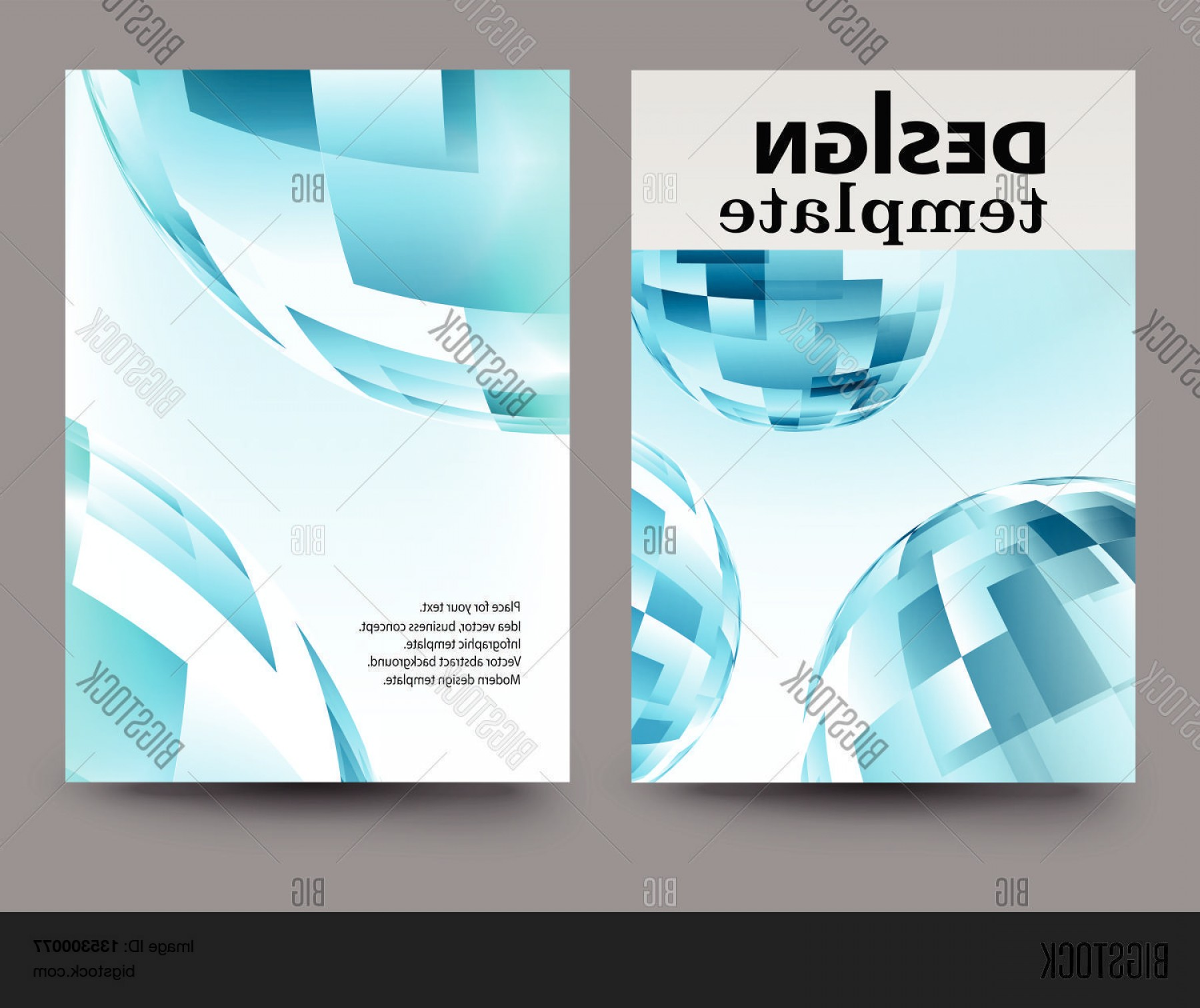Vector Brochure Cover Designs: Brochure Design Template Vector Vector P E