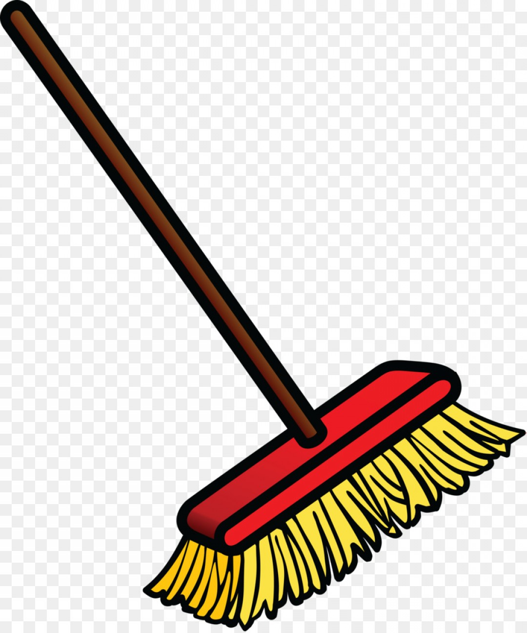 Mop And Bucket Clip Art Vector: Broom Download Clip Art Floor Vector
