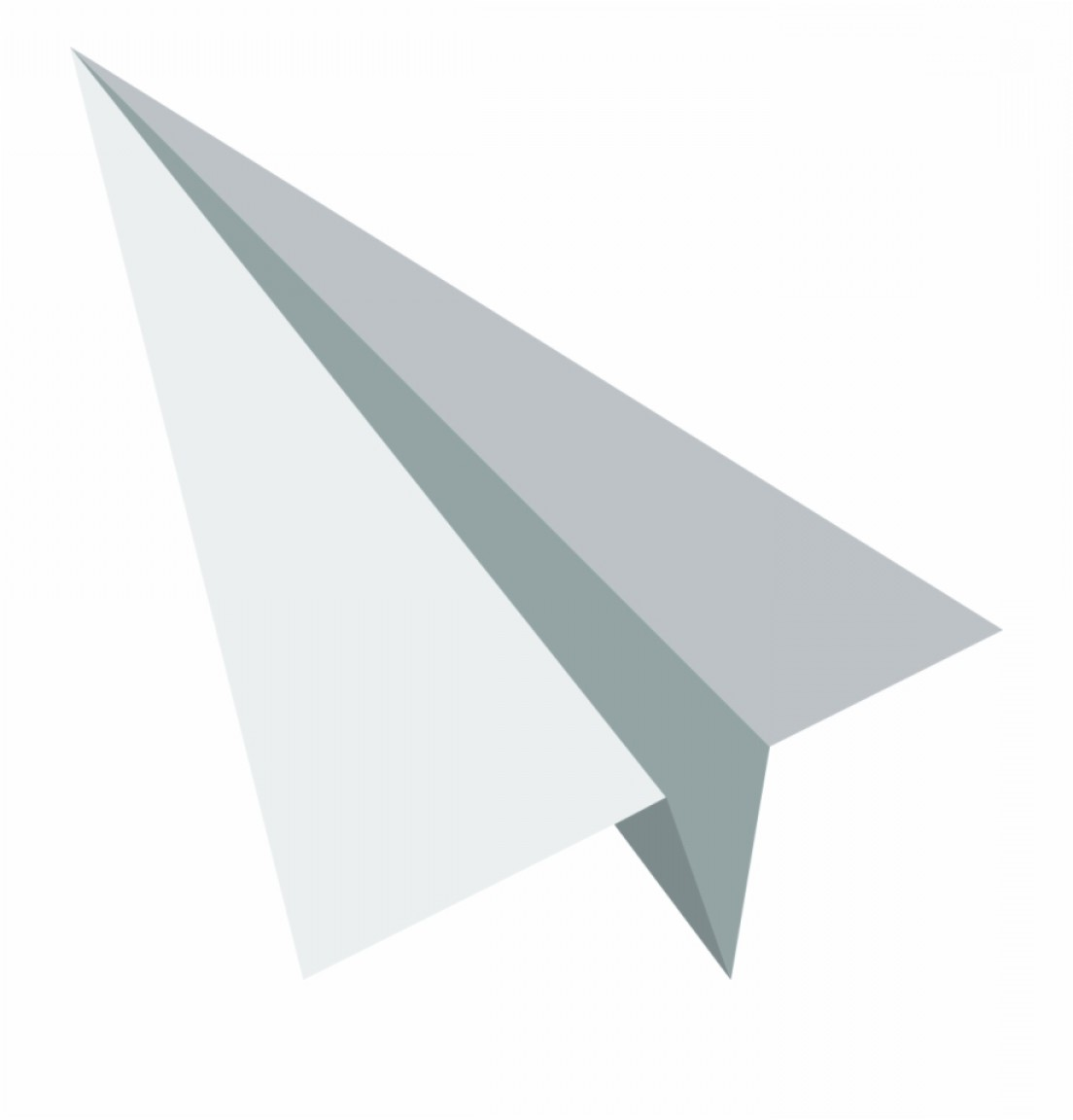 Crinkled Paper Vector: Brwwdownload Svg Download Png White Paper Plane Vector