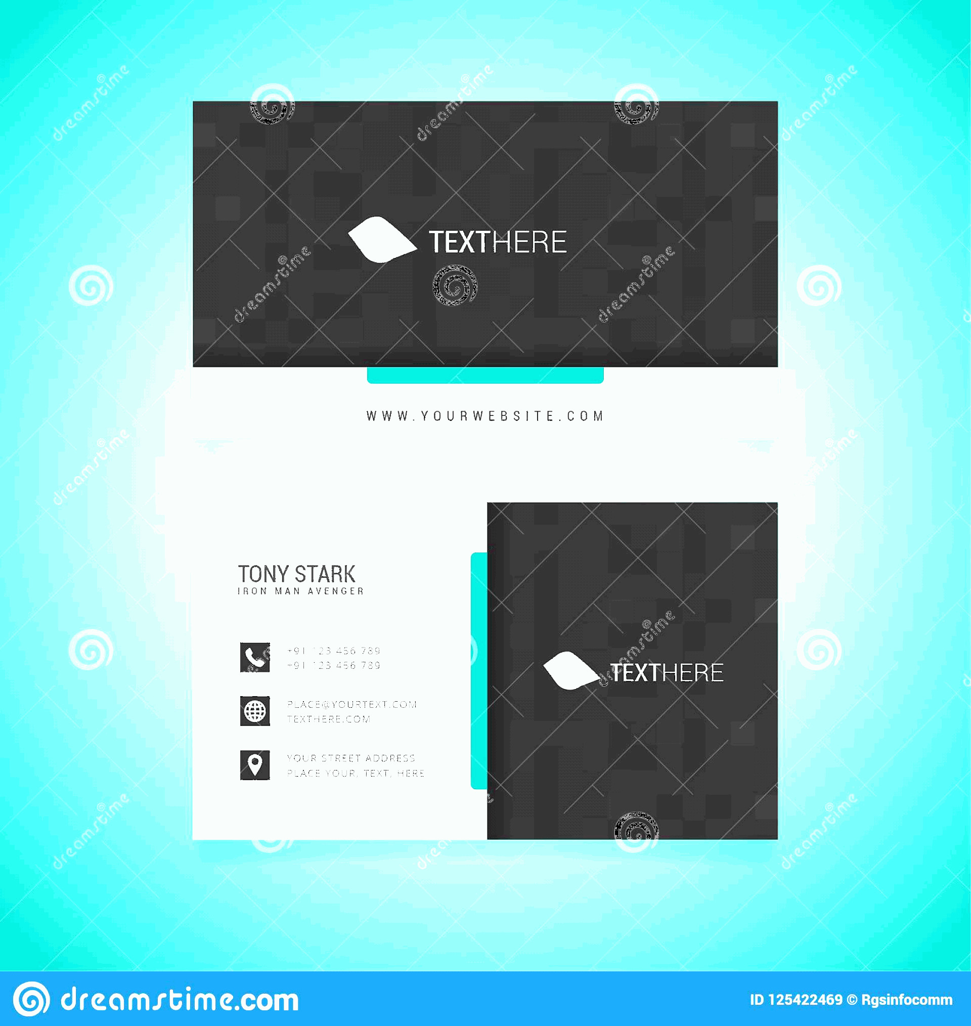 Vector In Adobe: Business Card Vector Template Was Created Adobe Illustrator You Can Download As Eps Format Edit Corel Draw Image
