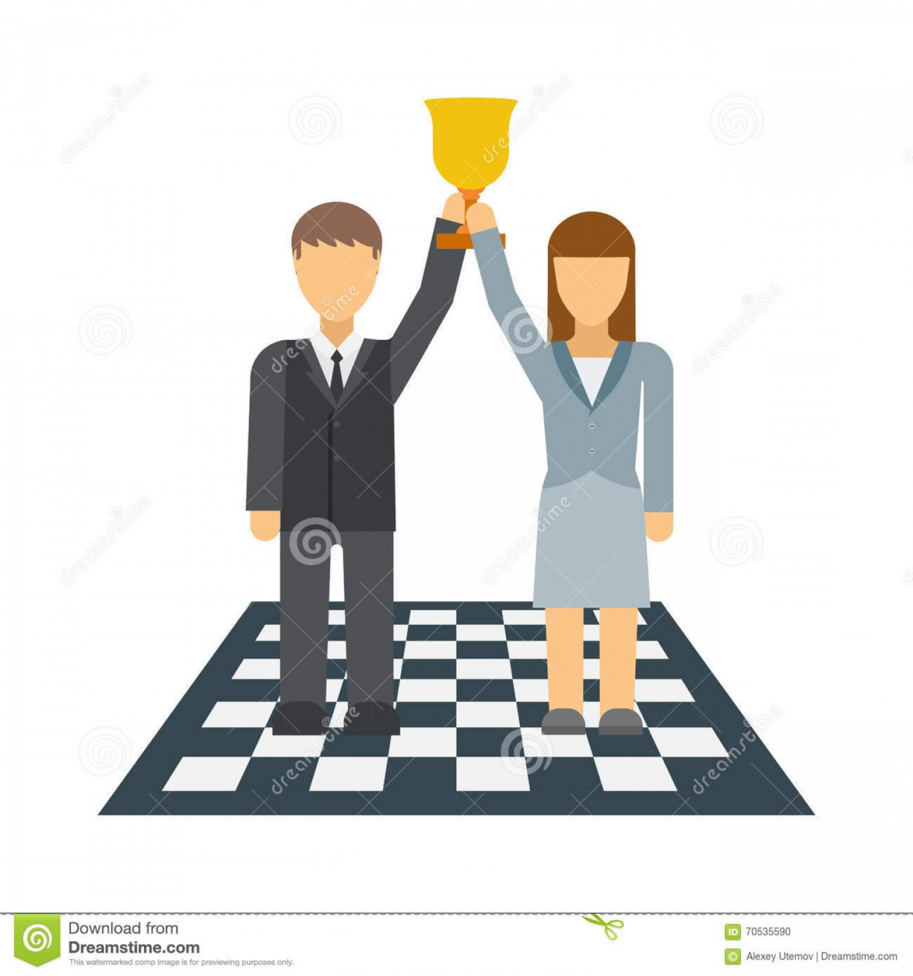 Holding Hands Up Silhouette Vector: Business Winners People Group Silhouette Excited Hold Hands Up Raised Arms With Gold Award Vector Illustration