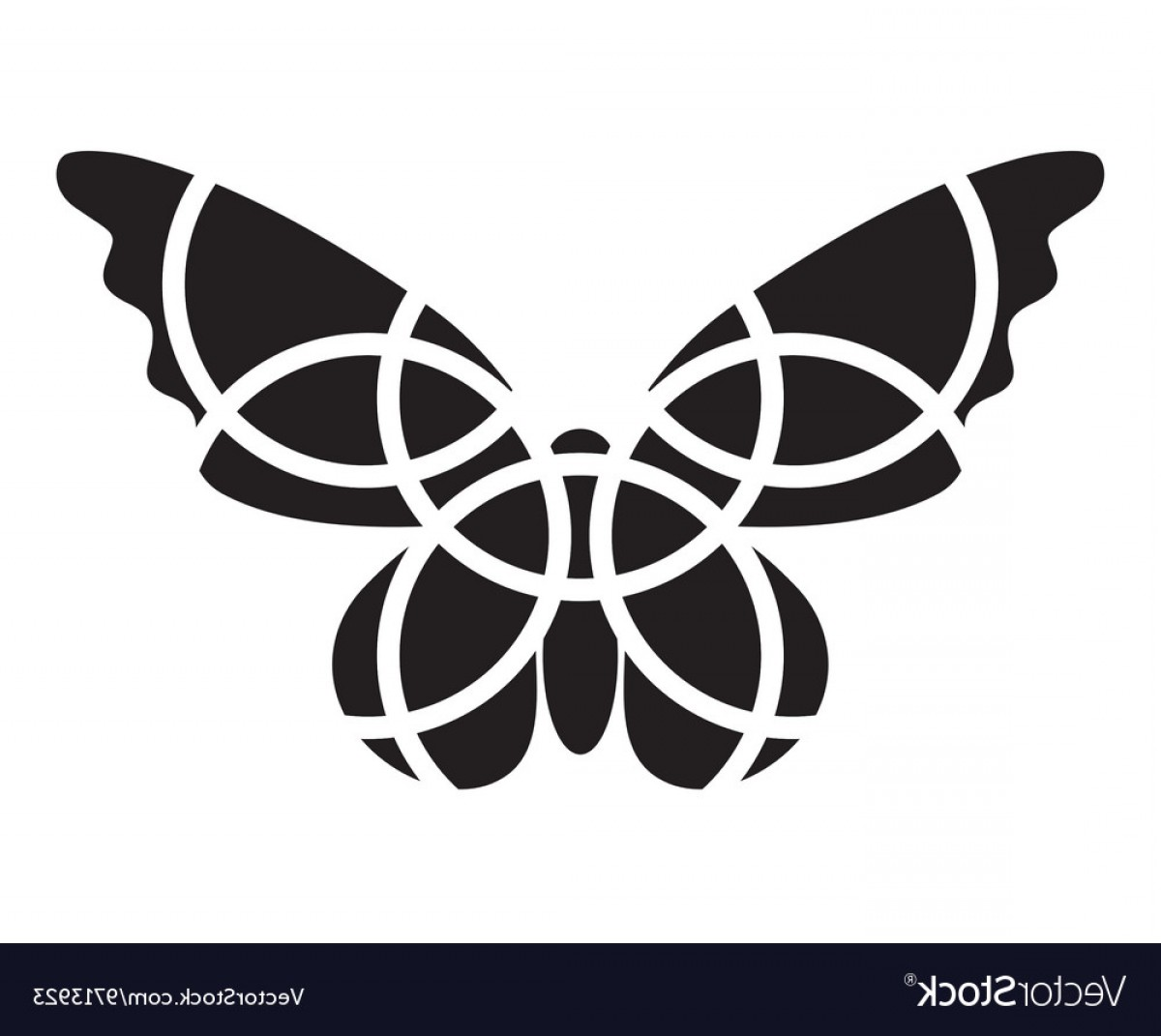 Vector Butterfly Clip Art: Butterfly Icon Mosaic Butterfly Clipart Vector