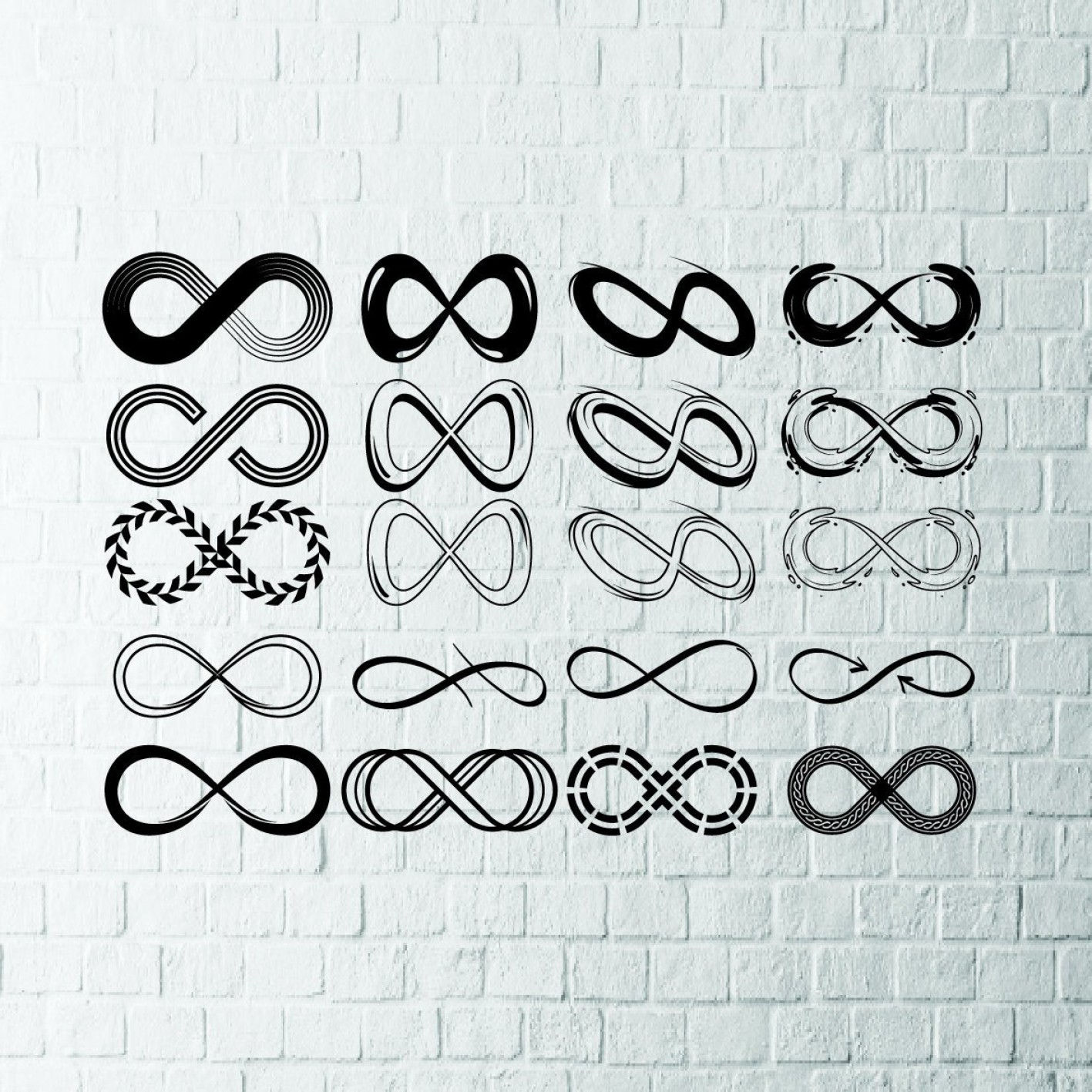 Love Infinity Symbol SVG Vector: Buy Get Free Infinity Sign Svg