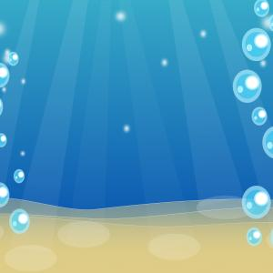 Vector Clip Art Of Water: Vector Clip Art Illustration Earth Surounded