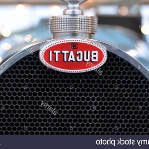 Race Car Grill Vector: Stock Photo Bugatti Racing Car Vintage Racing Car Vehicle Motor Detail Radiator