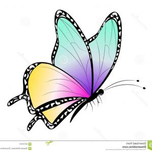 Vector Butterfly Clip Art: Butterfly Clipart For Kids With Cartoon Butterflies Clipart