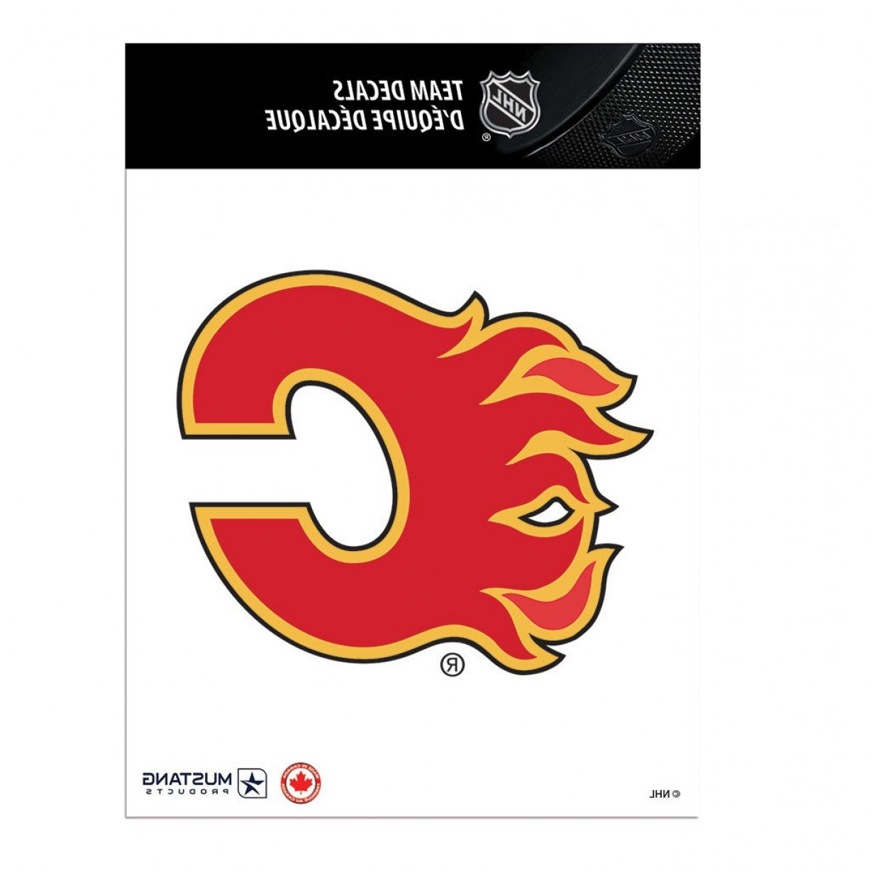 Detroit Red Wing Logo Vector: Calgary Flames X Team Logo Decal