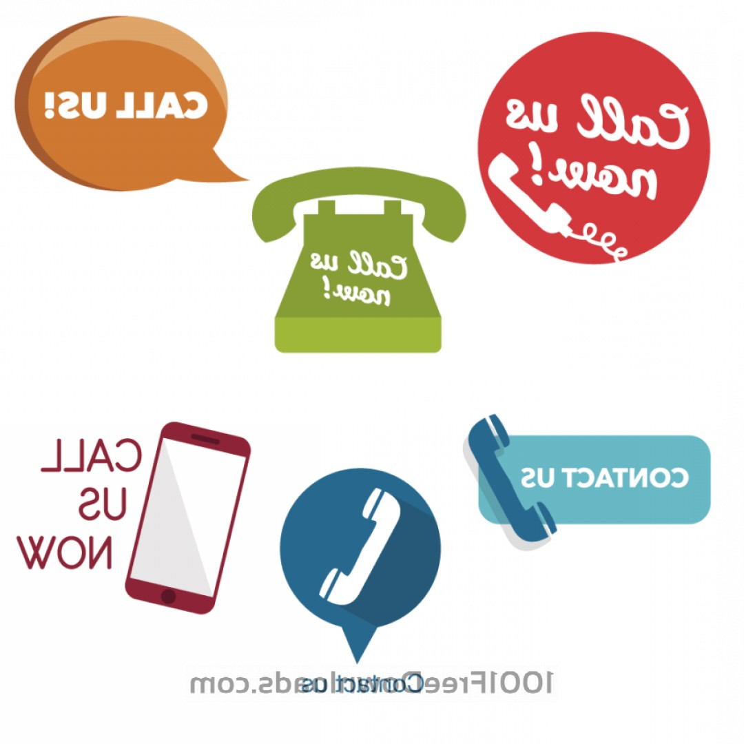 Contact Button Icons Vector Free: Call Us Now Buttons And Icons