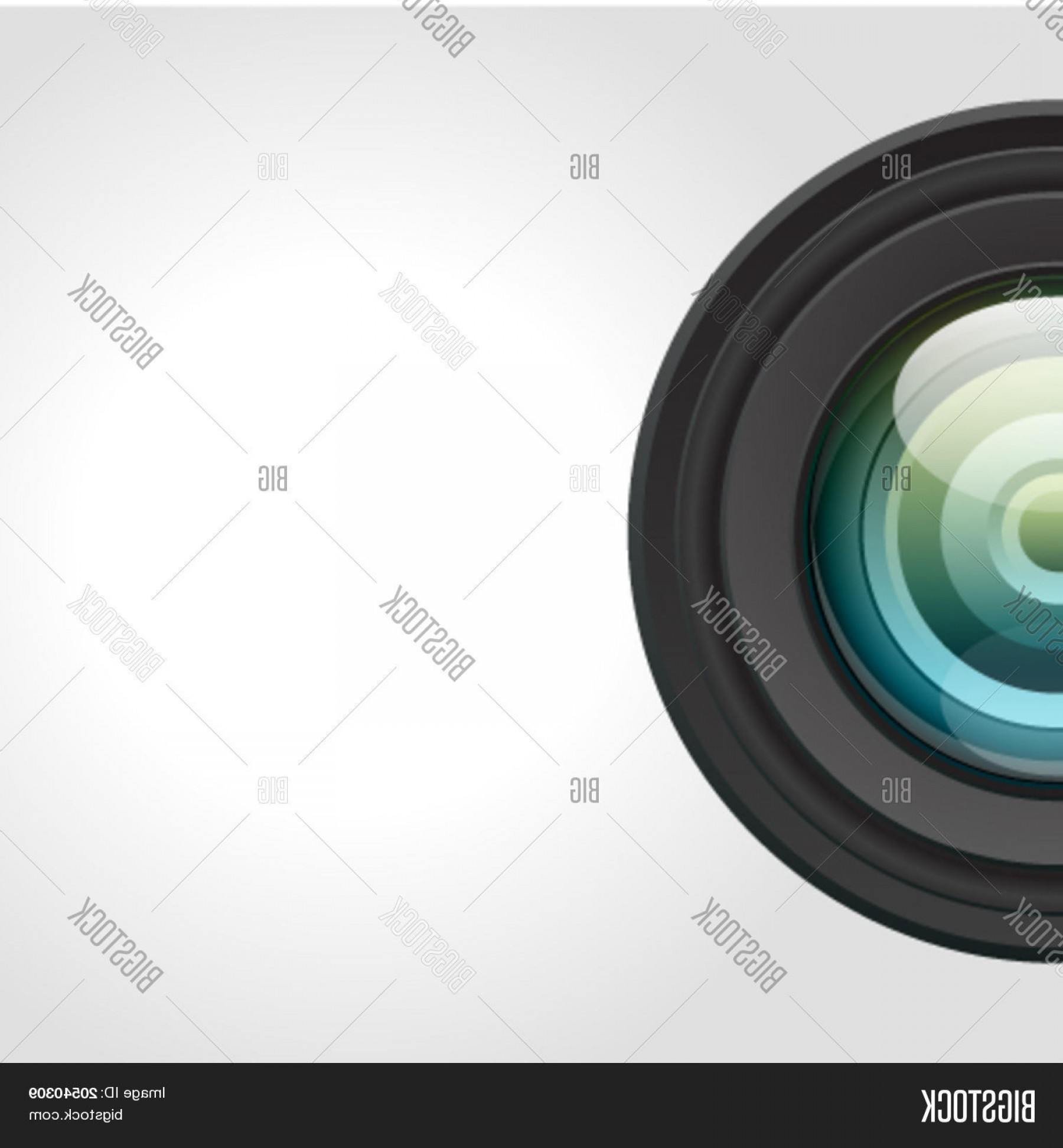 Hires Camera Lens Vector: Camera Lens Vector Background Eps