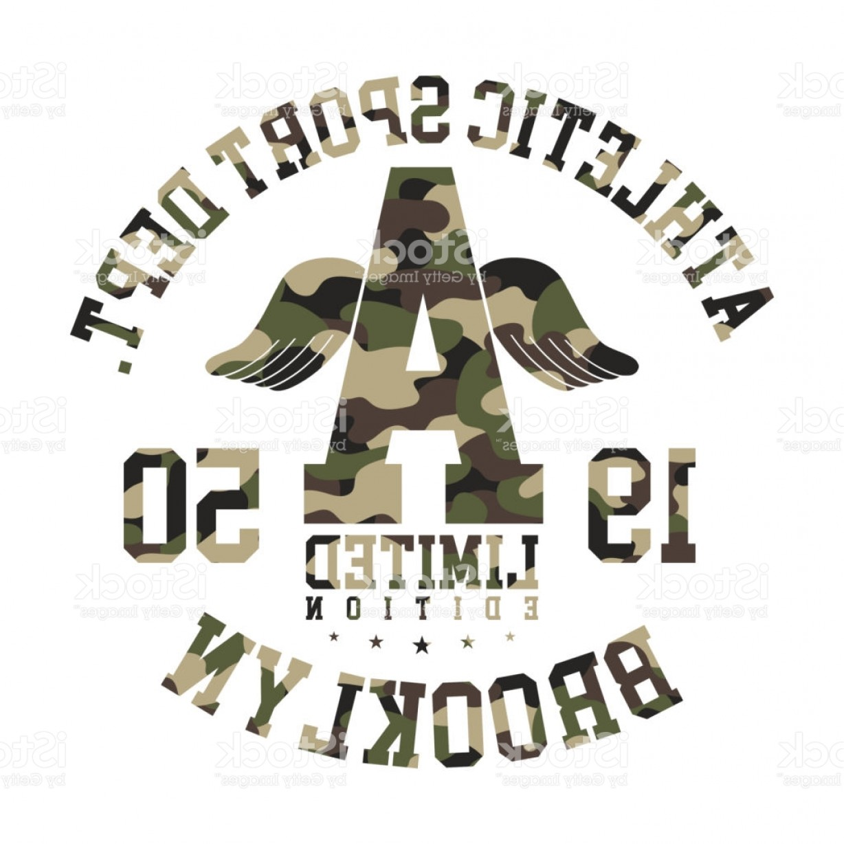Military T-Shirt Designs Vectors: Camouflage T Shirt Design Athletic Cute Shirt Graphic With Military Pattern In Gm
