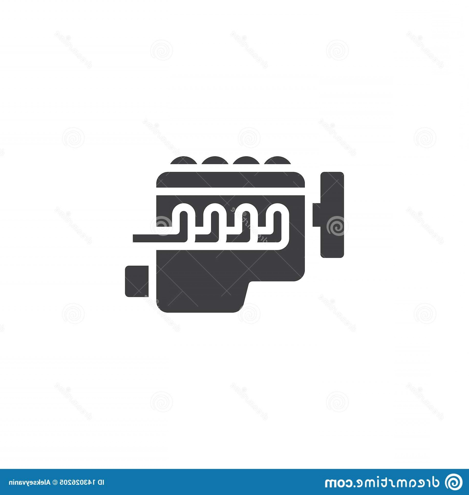 Combustible Engine Vector: Car Internal Combustion Engine Vector Icon Car Internal Combustion Engine Vector Icon Filled Flat Sign Mobile Concept Web Image