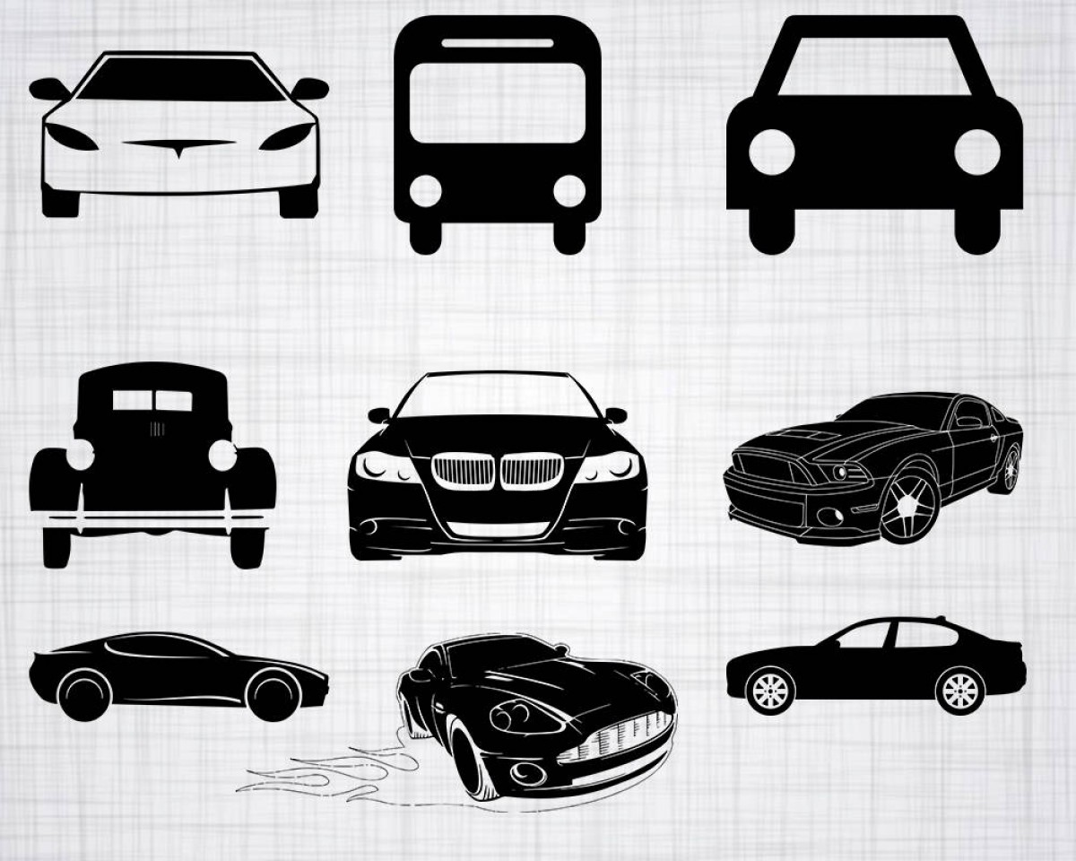 Saab 9 3 Vector Clip Art: Cars Svg Bundle Car Svg Car Clipart Car