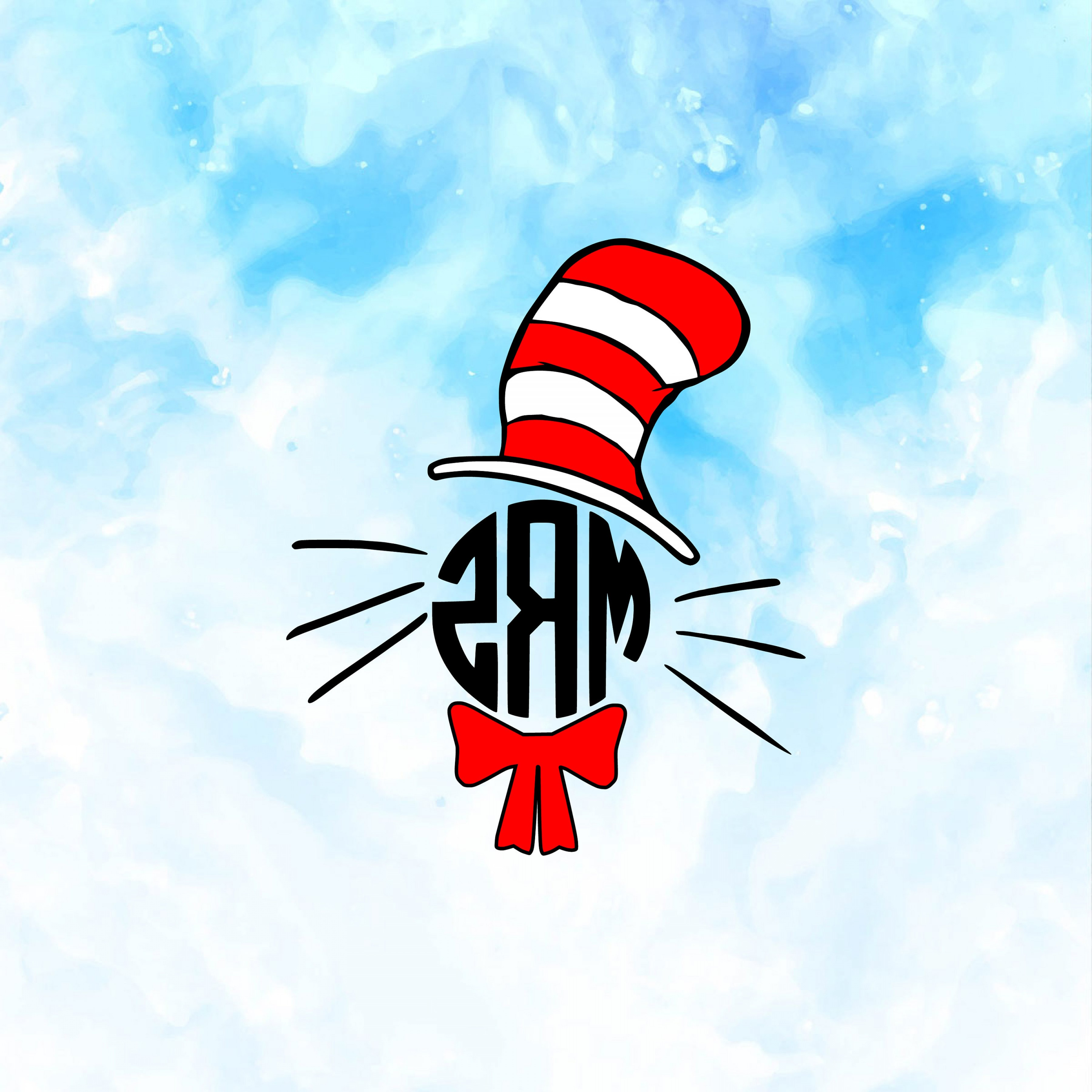 Dr. Seuss Hat Vector: Cat In The Hat Svg Dr Seuss Svg Dr Seuss Svg Files Cat In The Hat Cricut Files Thing Silhouette Files