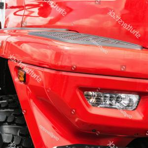 Vector Headlights Fire Truck: Cab Truck Fire Engine Lights