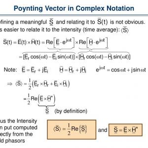 Time-Averaged Poynting Vector: Presentation Hfss Vector Field Calculations
