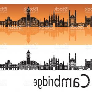 UK Skyline Vector: Stock Illustration Chesterfield Uk Skyline Poster