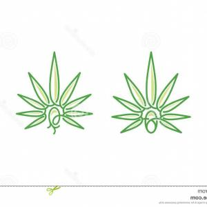 Cannabis Sprout Vector: Cannabis Seed Logo Vector Icon Your Stock Needs My Very Neat Easy To Edit You Can Download Eps Image