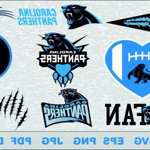 Vector Files For Vinyl Decals: Carolina Panthers Svg Logo Silhouette Studio Transfer Iron Cut File Cameo Cricut Iron Decal Vinyl Decal Layered