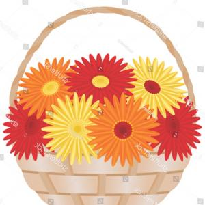 Orange Gerber Daisy Vector: Pretty Royalty Free Stock Photos Daisy Gerbera Flower Bouquet Glass Vase White Background Vector Image