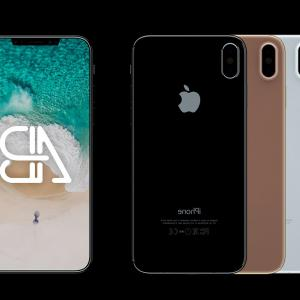 IPhone 8 Vector Front Back: Attractive New Iphone Mockup Psd