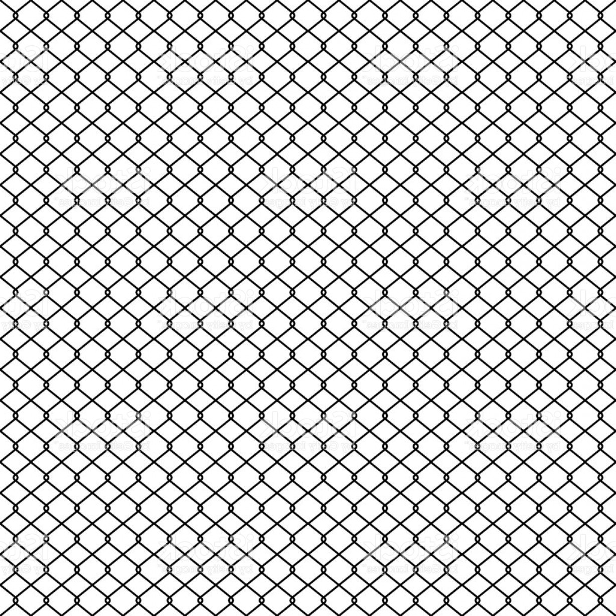 Chain Link Fence Braid Wire Fence Texture Seamless Pattern Vector Gm ...