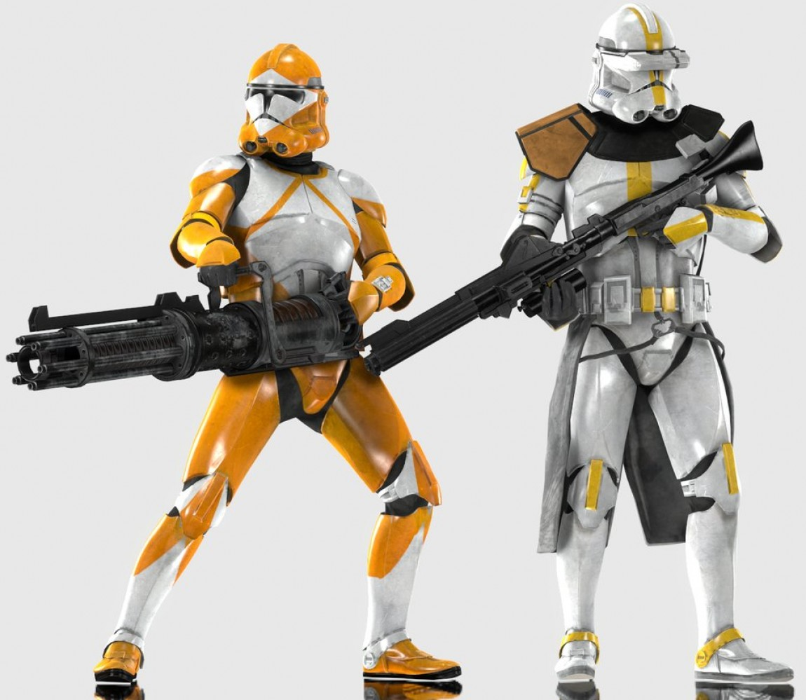 Clone Trooper Vector Art: Character Skins Fan Art With Images