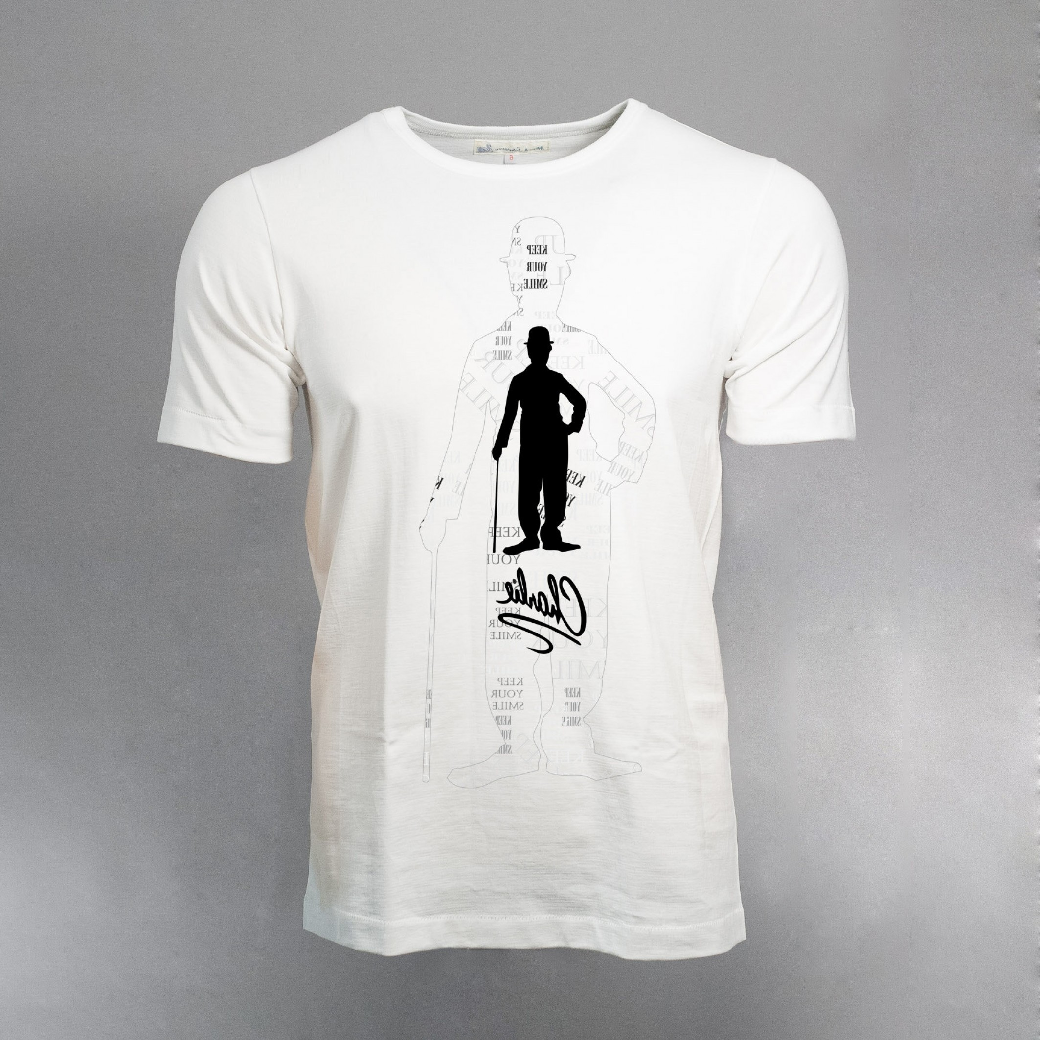 Vector Stamp Shirts: Charlie Chaplin Svg T Shirt Design