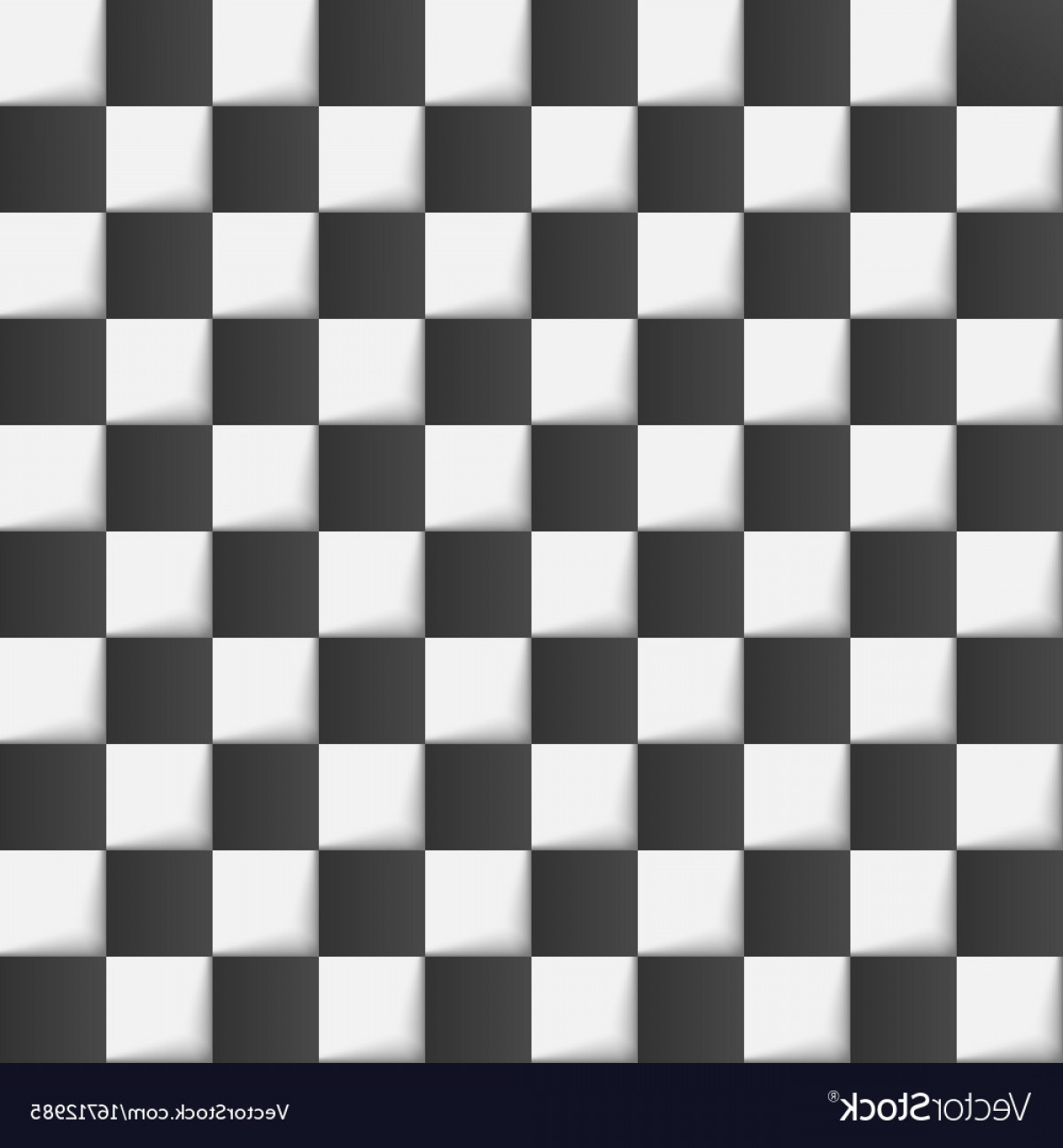 Chess Vector Background: Checkered Chess Board Background Vector