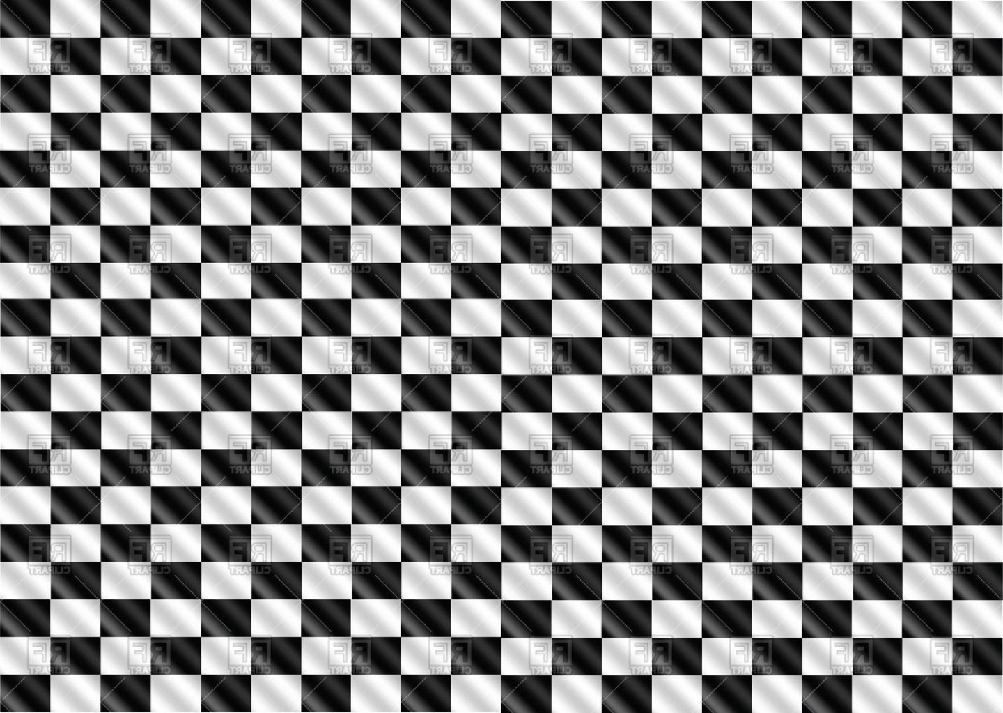 Checkered Flag Background Vector: Checkered Racing Flag Background Vector Clipart