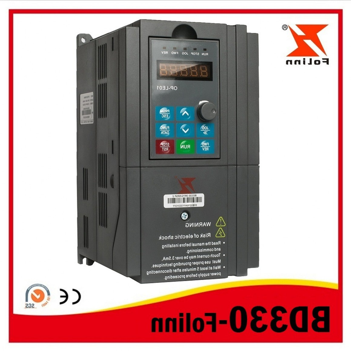 Vector Power Inverter Remote: China China Top Brand High Performance Vector Control Frequency Inverter Vfd Variable Frequency Ac Drive Bd