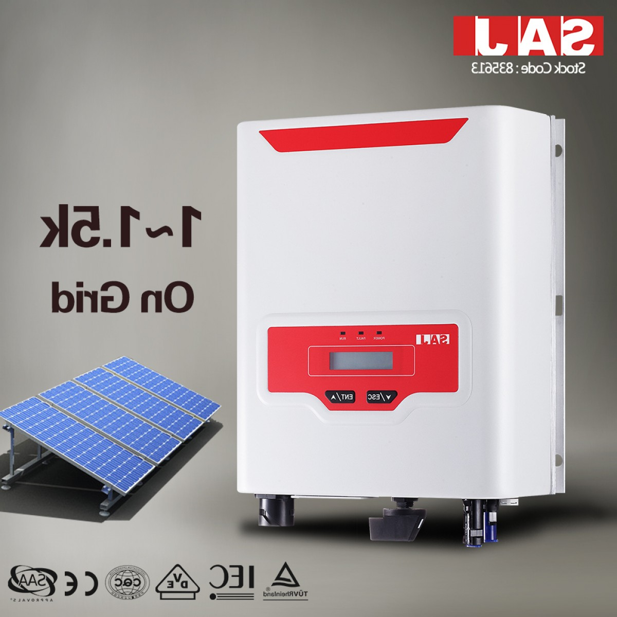 Vector Inverter 3000: China Saj Sununo Plus Series Single Phase Solar Inverter Pure Sine Wave Inverter