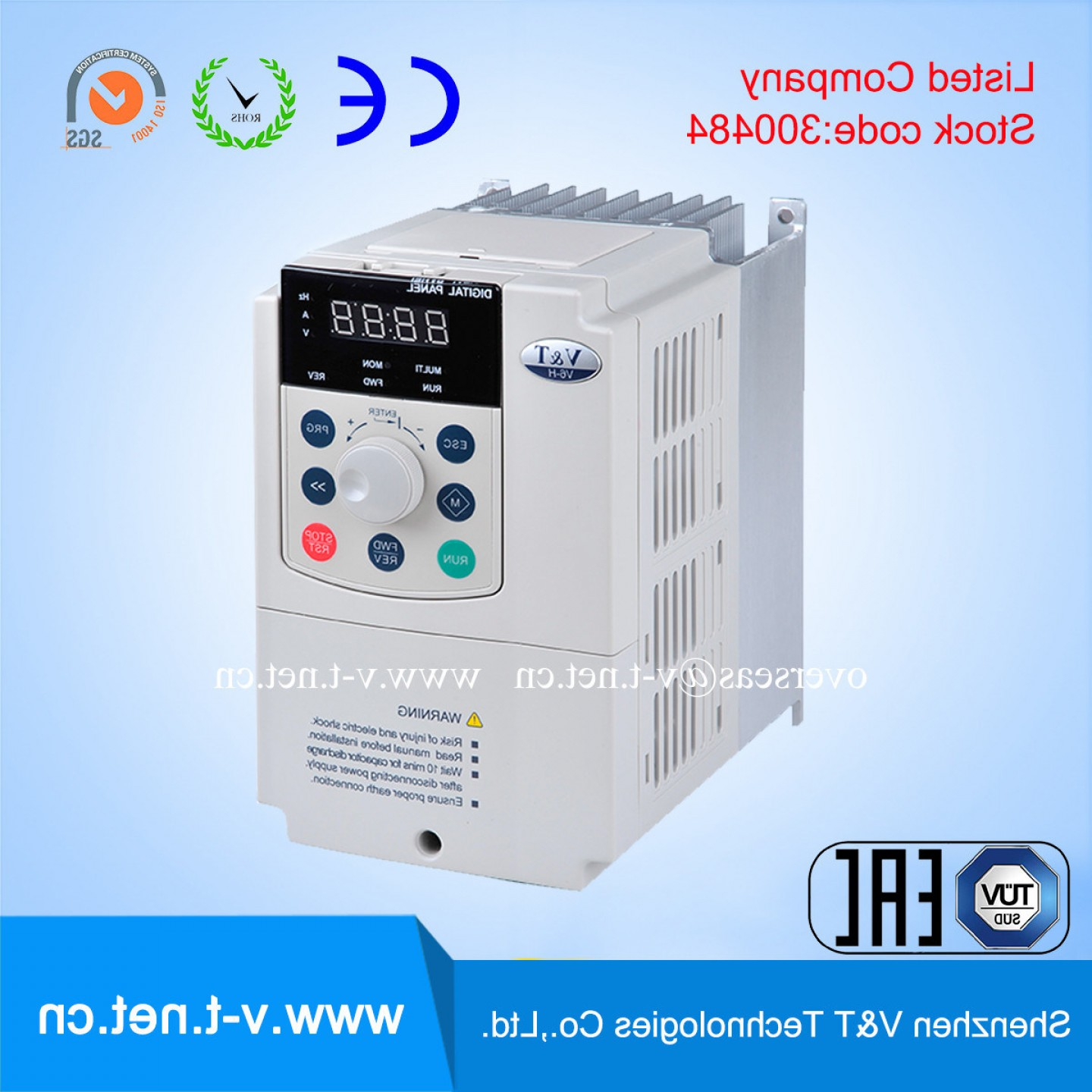 Vector Power Inverter Remote: China V H Universal Vector Control High Performance Frequency Inverter