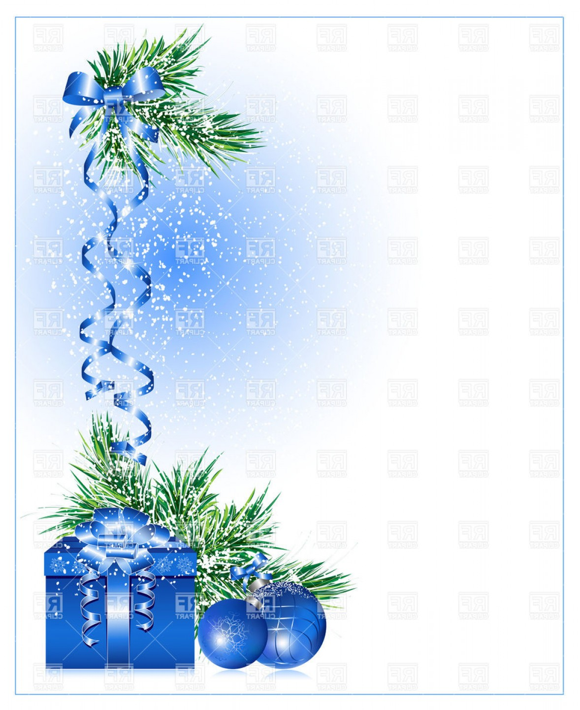 Vector Art Free Christmas Gift: Christmas Background With Gift Box Vector Clipart