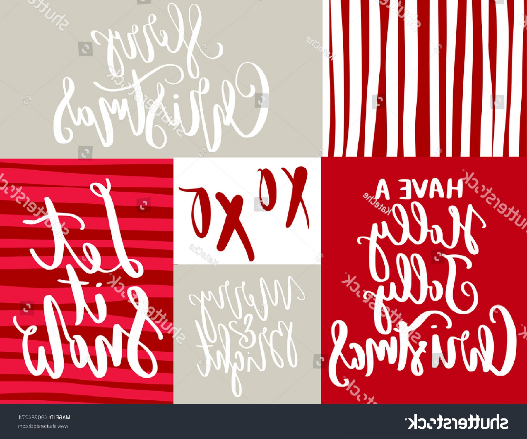 Christmas Vector Sayingd: Christmas Quotes Sayings Postcards Poster Banner