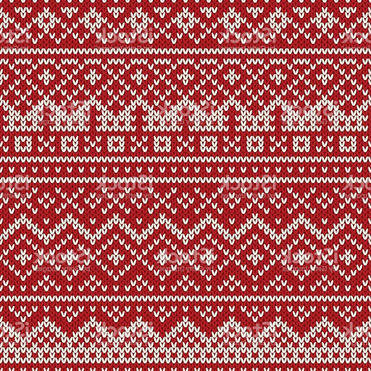 Christmas Sweater Design Vector: Christmas Sweater Design Seamless Holiday Knitted Pattern Gm