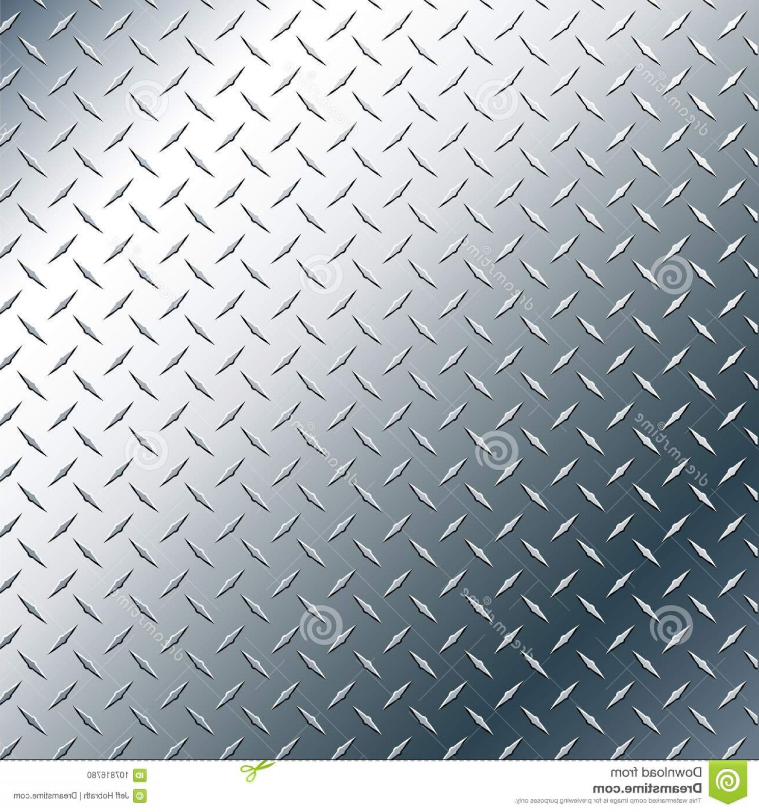 Diamond Plate Vector Pattern: Chrome Diamond Plate Realistic Vector Graphic Illustration Metal Background Pattern Subtle Contrasting Shiny Reflection Image