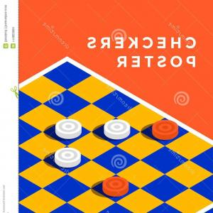 Checker Vector Template: Photostock Vector Checkered Abstract Background Checker Chess Square Abstract Background Vector
