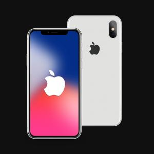 IPhone 8 Vector Front Back: Comfortable Editorial Stock Image Iphone Vector Illustration Isolated White Background Image