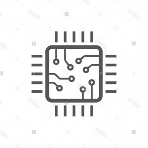 Chip Lines Vector: Abstract Grey Tech Circuit Board Lines Chip Background Vector Design Abstract Grey Tech Circuit Board Lines Chip Background Image