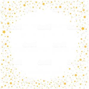 Stars Yellow Christmas Vector: Christmas Background With Yellow Stars Gm