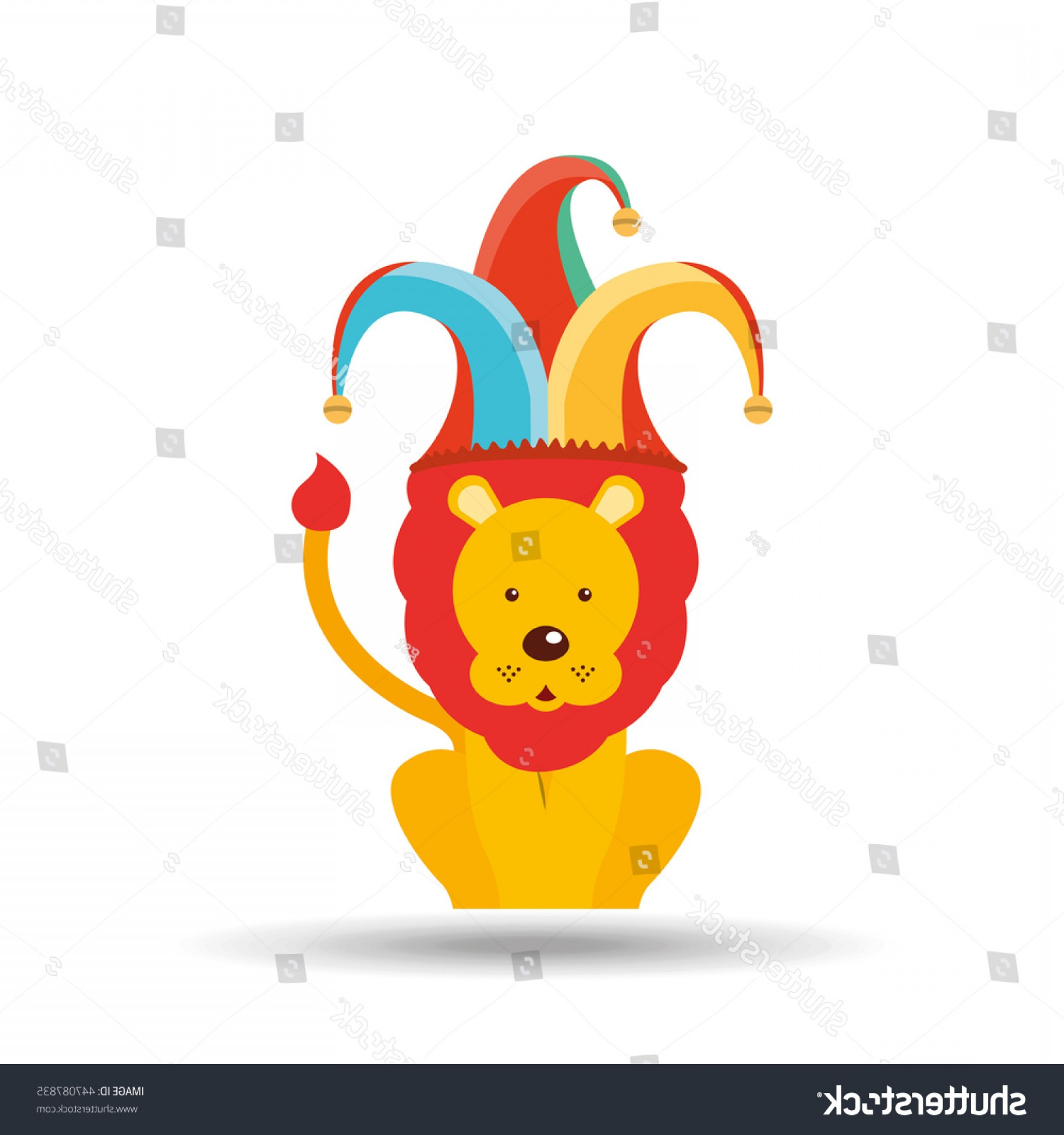 Circus Animals Vector Graphic: Circus Animal Isolated Icon Design Vector