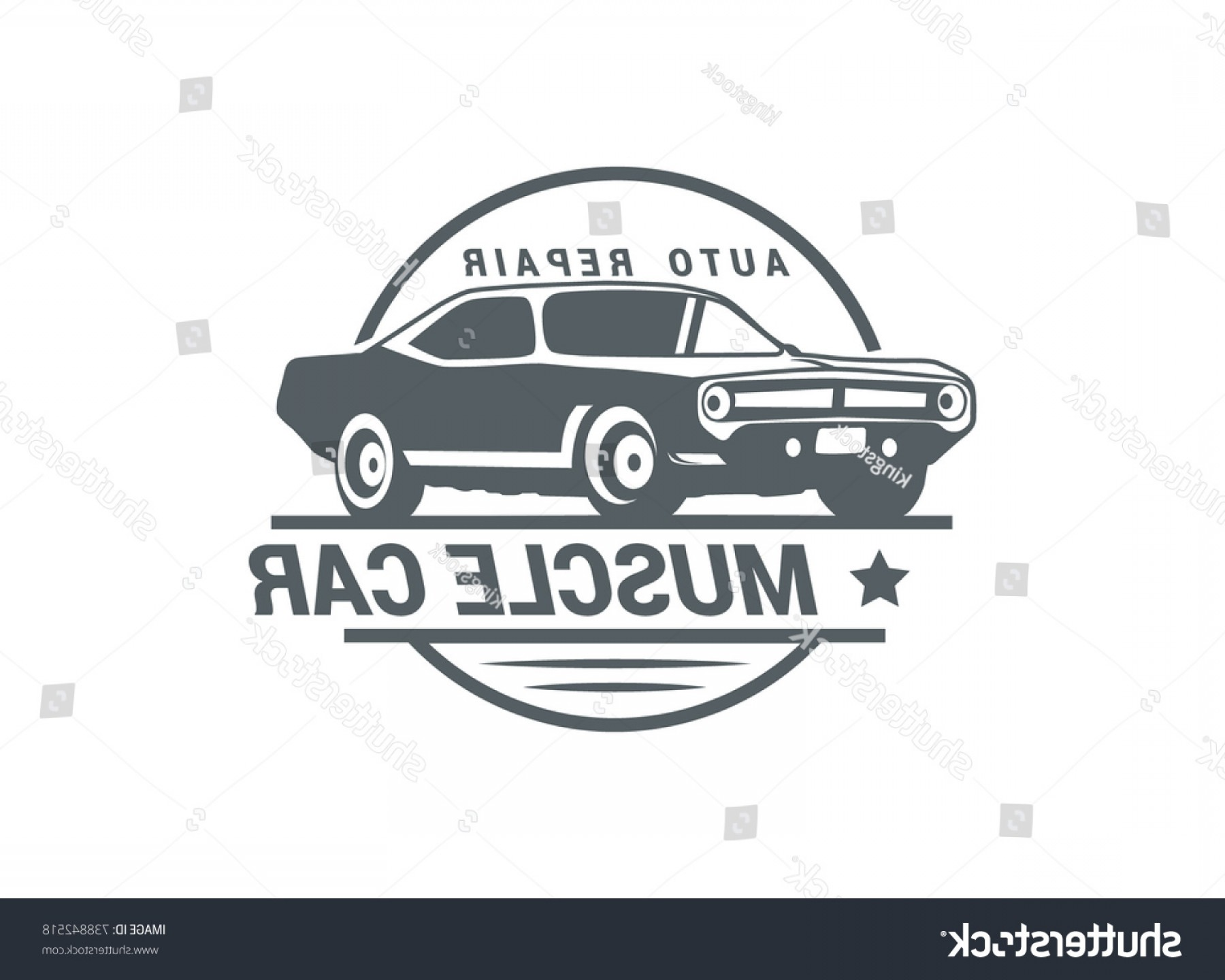 Ford Falcon Logo Vector: Classic Muscle Car Logo Vector Illustration